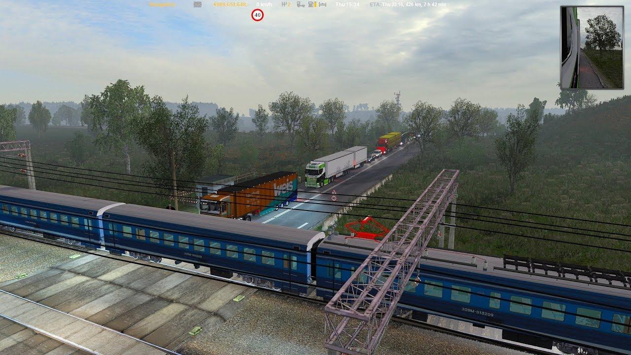 ETS2 1 34 x Rus 1 8 1   Project Next-Gen Graphic Mod 1 6 + RGM 2 4 0