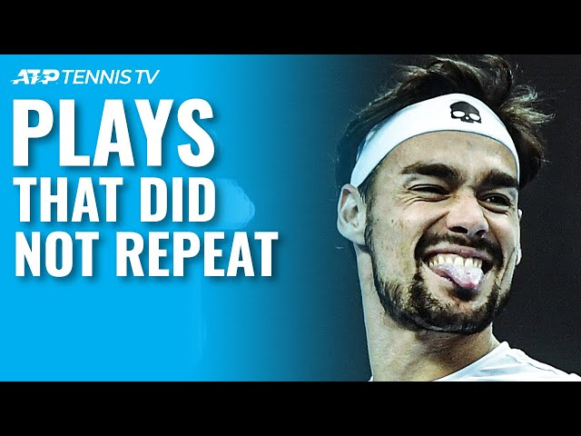 Tennis Plays That Did Not Repeat 😳