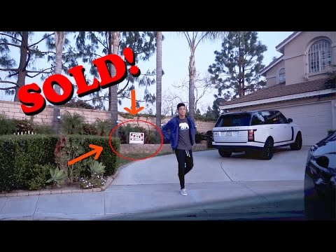 """Putting """"FAZE RUG's"""" House For SALE Prank! (rug removes the sign)"""
