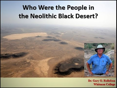 Who Were the People in the Neolithic Black Desert?