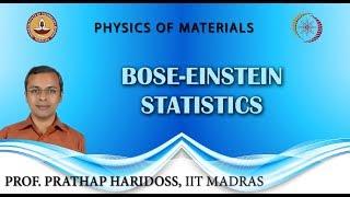 Bose-Einstein Statistics