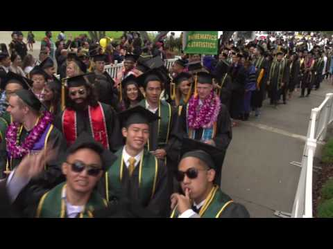 College of Science Commencement 2016