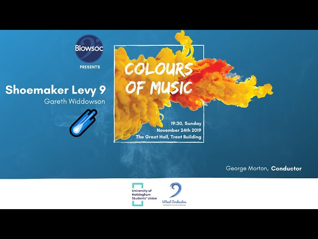 🎵 Wind Orchestra: ☄️ Shoemaker Levy 9 — Gareth Widdowson