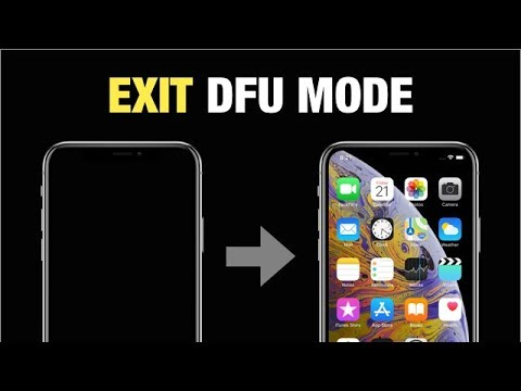 Tutorial to Get Out iPhone X DFU Mode Without Computer in 3 Simple Steps.