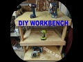 DIY WorkBench | Garage Workbench | DIY Garage Bench | Garage Work Table