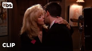 Friends: Ross Kisses Chandler's Mom (Season 1 Clip) | TBS