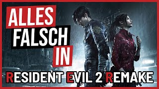 Alles falsch in Resident Evil 2 REMAKE 🛎️ GameSünden [SATIRE]