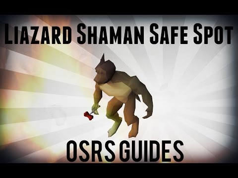 OSRS Lizard Shaman Safe Spot Guide [Works only with safespot #2 after  update]