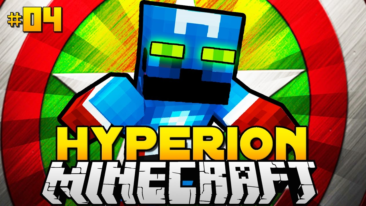 CAPTAIN AMERICA STYLE Minecraft Hyperion DeutschHD YouTube - Minecraft hyperion spielen