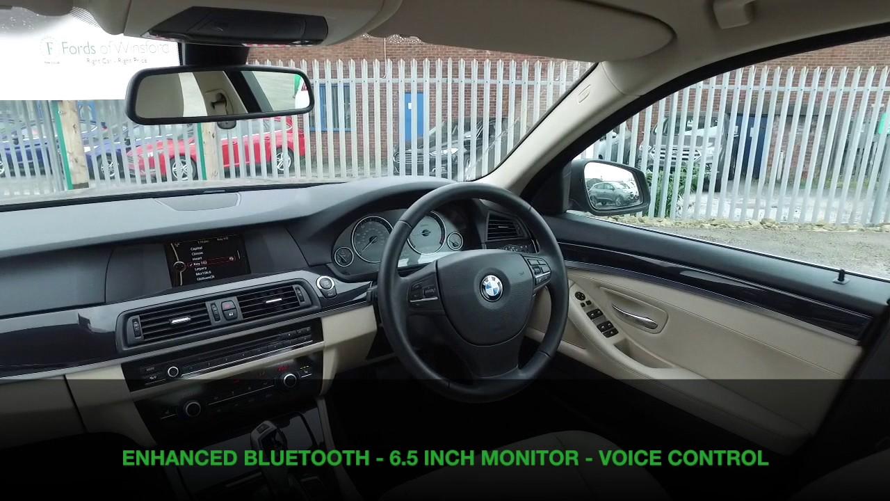 Bmw 520d Se Auto 2012 520d Se 4dr Step Auto Start Stop Youtube