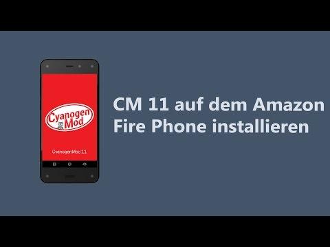 CyanogenMod 11 auf dem Amazon Fire Phone installieren