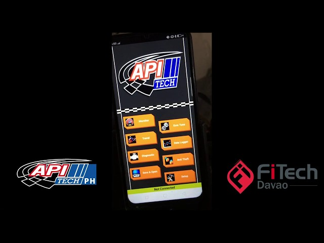 How to tune API Tech ECU using Mobile apps