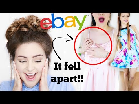 Trying On Prom Dresses I Bought From Ebay! *DISASTER*