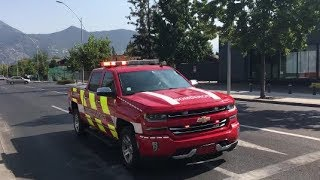 Compilado Parte 2 Carros del CBS respondiendo || Chile ||Fire Trucks Responding 2018
