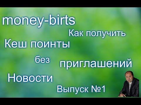 Money birds Важные новости. Птица которая несет кеш поинты