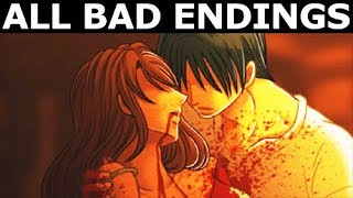 The Boogie Man - ALL BAD ENDINGS - Walkthrough Gameplay (Indie 2D Horror Game 2018) (No Commentary)