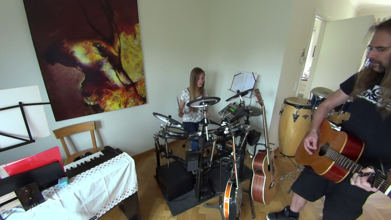 how you remind me nickelback acoustic guitar drums cover youtube. Black Bedroom Furniture Sets. Home Design Ideas