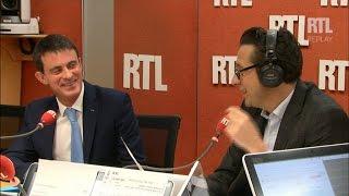 Laurent Gerra imite Manuel Valls, invité de RTL