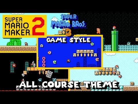 Super Mario Maker 2 - All Course Theme (Super Mario Bros. 3 Game Style)