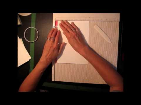 "Super Fast & Easy ""All-In-One"" Binding for Scrapbook Mini Albums (Tutorial)"