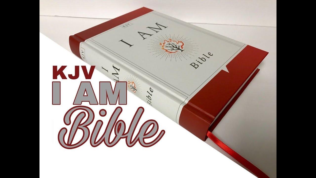 KJV I Am Bible Review Hardcover