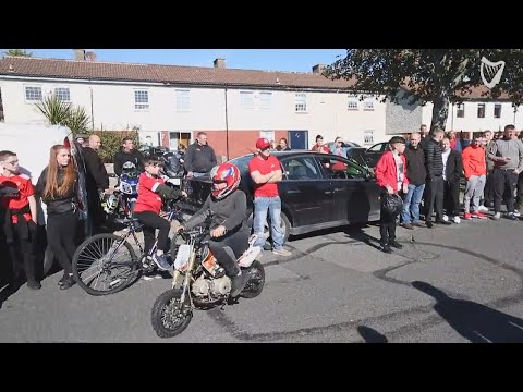 VIDEO: The funeral of Kyle Finnegan Hooper has taken place in Tallaght