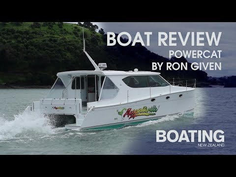 Boat Review - Ron Given Power Cat - With Sarah Ell