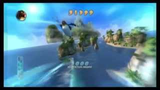 Surf's up wii gameplay #1 live commentary