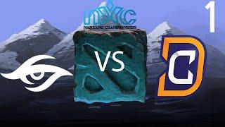 Secret vs Digital Chaos - Game 1 - Nanyang Championships LAN - GoDz & ODPixel
