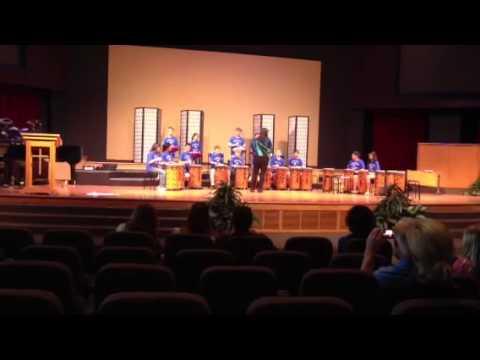David Bamber Valley World Drummers