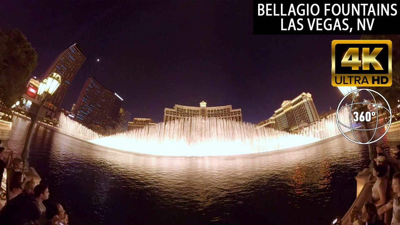 VR 360 Bellagio Fountains Las Vegas - GoPro Omni VR 360
