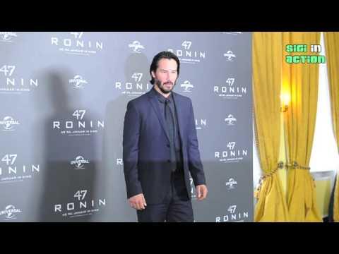 """Keanu Reeves Photocall """"47 RONIN"""" @ Hotel Bayerischer Hof in Munich"""