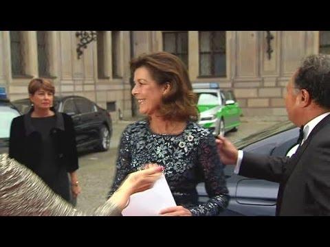 Prinzessin Caroline von Hannover zu Gast in München