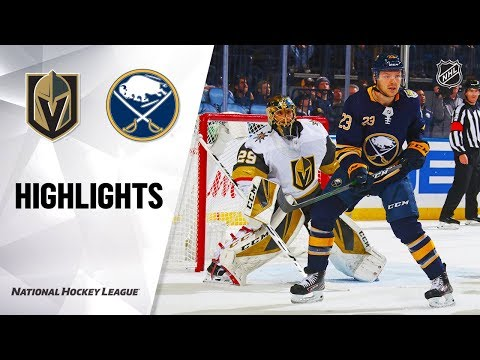 NHL Highlights   Golden Knights @ Sabres 1/14/20