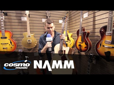 Eastman AC222CE Grand Auditorium Acoustic Guitar - Cosmo Music at NAMM 2018