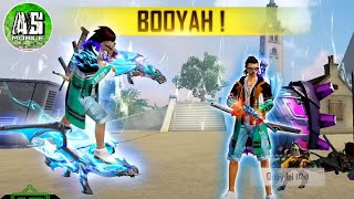 [Free Fire] Test Skin Rồng Xanh Full Level 7 !!! | AS Mobile