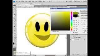 Photoshop - Create A Shiny Emoticon