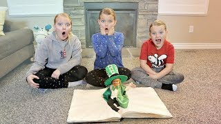 CATCHING A Leprechaun! Magic Spell book