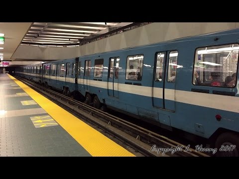 60fps Montreal Metro: MR73 on the Green Line