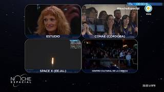 #NocheEspacial | Lanzamiento del satélite argentino SAOCOM 1A