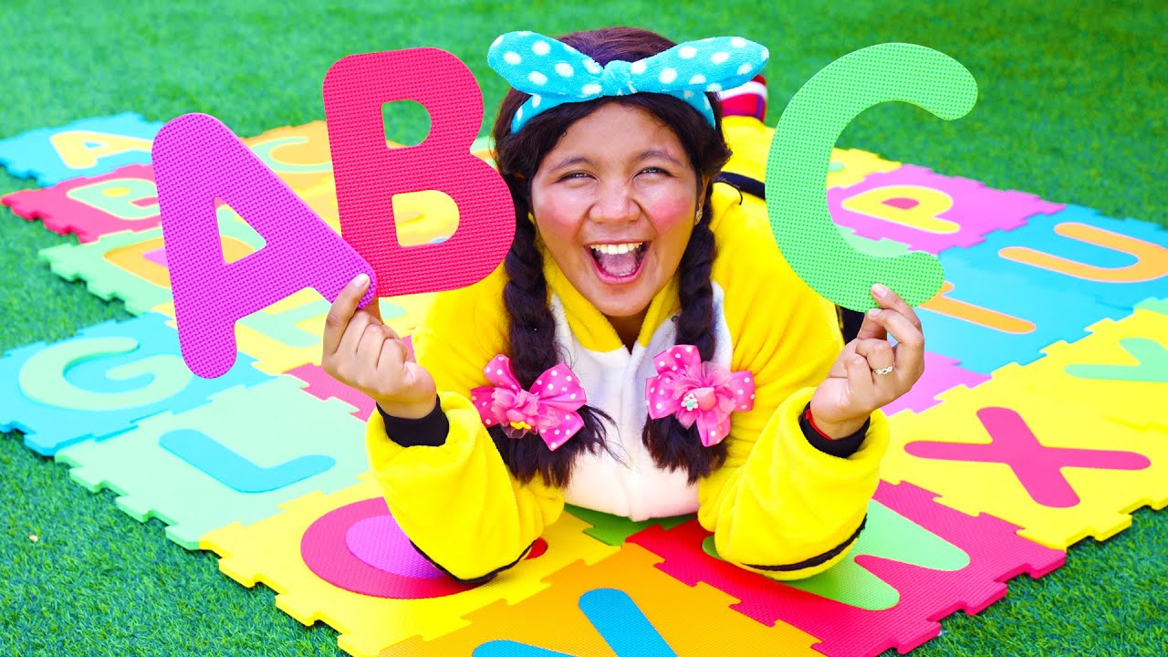 ABC Song Nursery Rhymes with Puzzle Toy for Kids #2