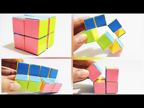 Infinity Cube Out Of Paper | Rubik's Cube | Paper Toy