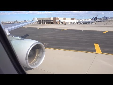 American Airlines Airbus A330-300 / Charlotte To Phoenix / 4K Video