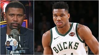 The Bucks don't have a dominant duo like the other NBA contenders - Jalen Rose | Jalen & Jacoby
