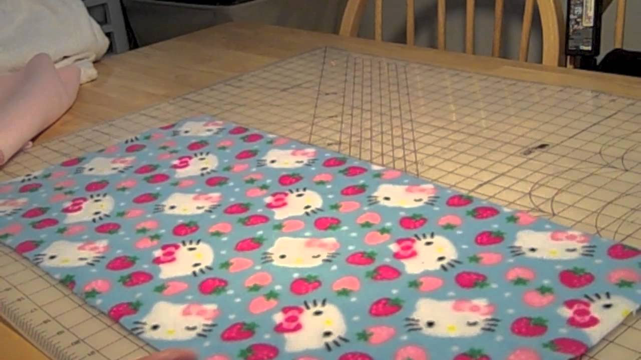 How to make fleece liners for your guinea pig cage youtube for How to make a guinea pig cage