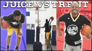 Juice Has No Legs... Can Trent Beat Him In 1v1 Basketball