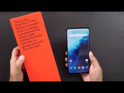 New OnePlus 7T Pro Unboxing & Overview - Never Settled