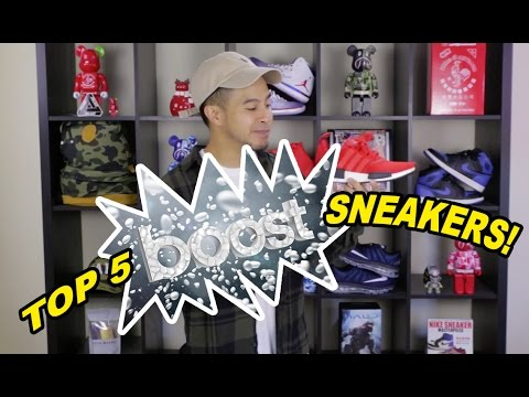 TOP 5 SNEAKERS WITH BOOST CUSHIONING!!