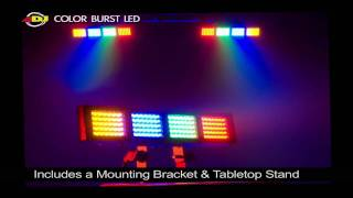 Video American DJ Color Burst LED download MP3, 3GP, MP4, WEBM, AVI, FLV Juni 2018