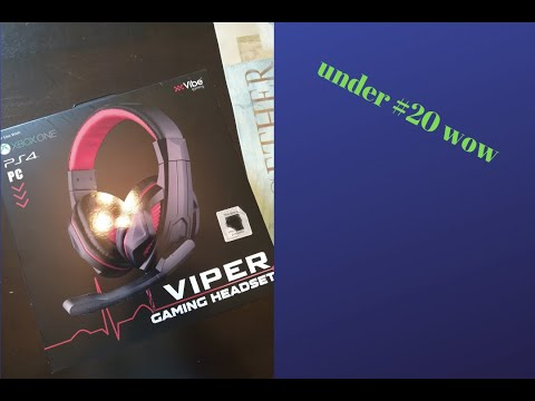 Under $20 gaming headsets by Viper-Review